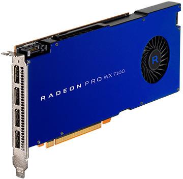 AMD Radeon Pro WX7100 8GB PCIe Video Card