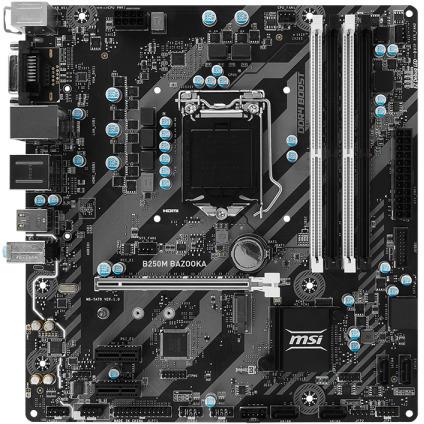 MSI S1151 MicroATX B250M Bazooka DDR4 Motherboard | Computer Alliance