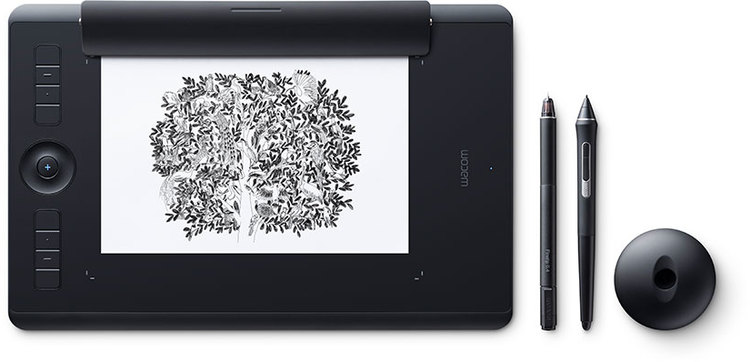 Wacom Intuos Pro Medium with Pro Pen 2 and Paper Kit PN PTH-660/K1-C