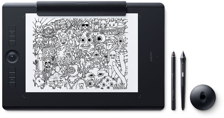 Wacom Intuos Pro Large with Pro Pen 2 Technology and Paper Kit PN PTH-860/K1-C