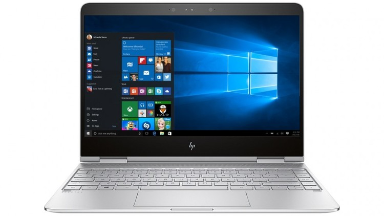 """HP Spectre x360 13-W011TU 13.3"""" Touch Core i5 Notebook Win 10 PN Z4K13PA"""