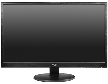 "23.6"" AOC M2470SWH LED Monitor with Speakers"