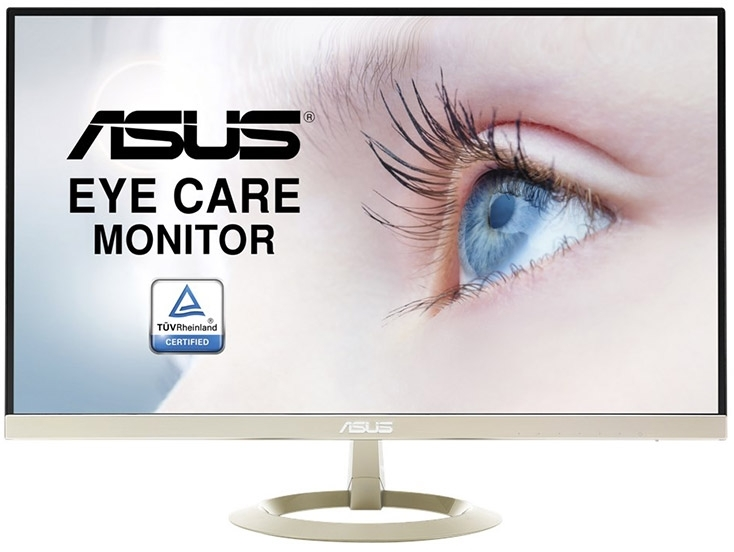27 Quot Asus Vz27aq 2k Ips Eyecare Monitor With Speakers