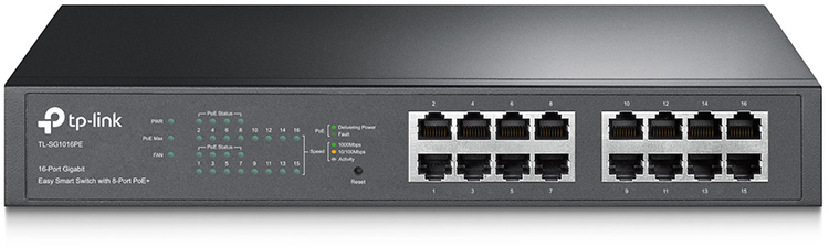 16 Port TP-Link TL-SG1016PE Gigabit Switch with Power over