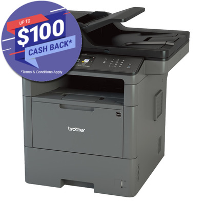 Brother MFC-L6700DW Duplex Mono Laser Wireless Multifunction Printer, + $100 Cash Back for ABN Holders*