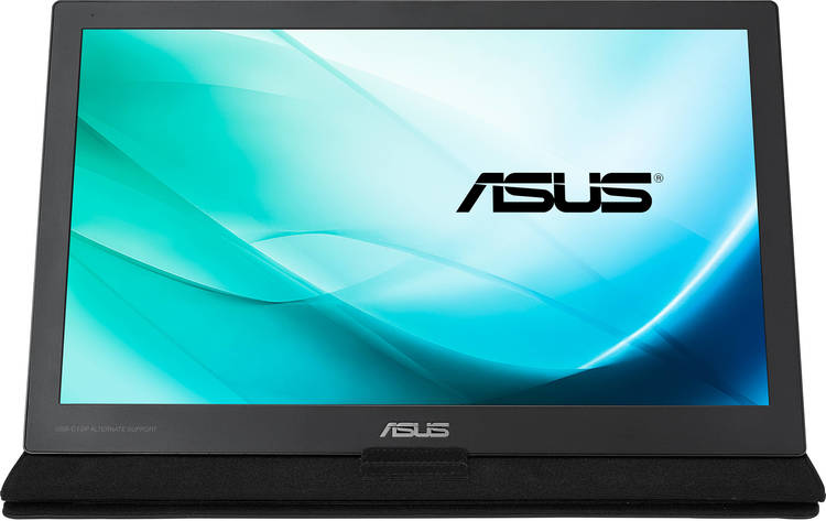 """15.6"""" ASUS MB169C+ FHD Portable USB Type-C Power LED Monitor"""