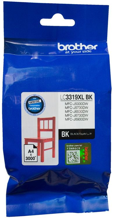 Brother Lc 3319xl Black High Yield Ink Cartridge 3 000