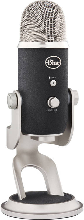 Blue Yeti Pro Usb And Analog Microphone 836213001967