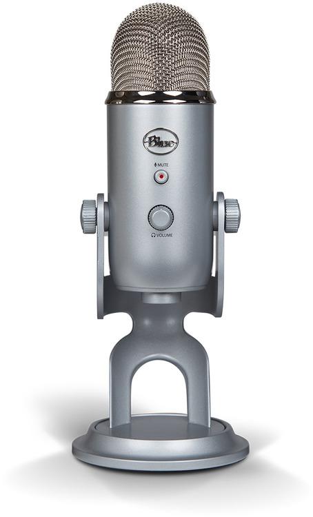 blue yeti silver usb microphone 836213001950 computer alliance. Black Bedroom Furniture Sets. Home Design Ideas