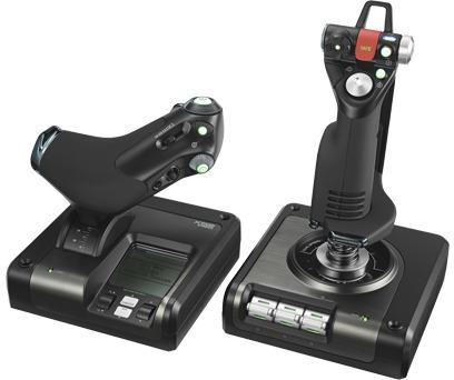 Saitek By Logitech X52 Pro Hotas Flight Control System Pn