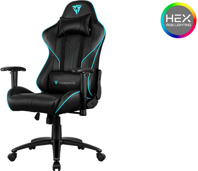 Thunderx3 Rc3 Hex Rgb Lighting Gaming Chair Computer