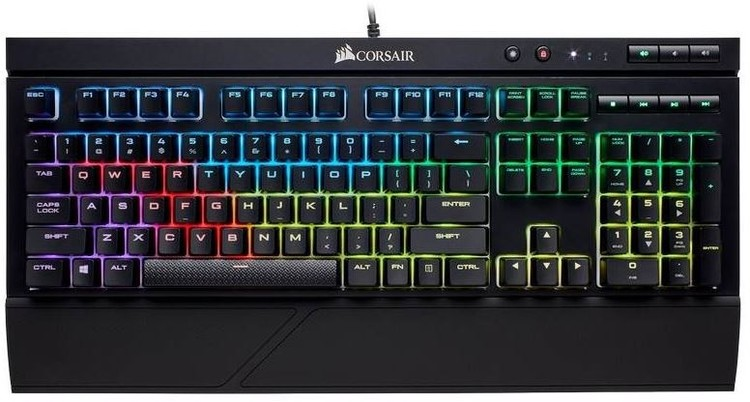 Corsair Wired K68 Rgb Mx Red Mechanical Gaming Keyboard Pn