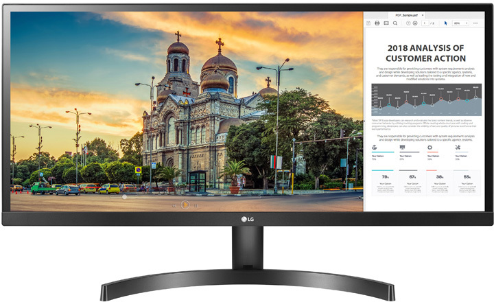 34 Quot Lg 34wk500 P Ips Ultrawide Led Monitor Computer Alliance