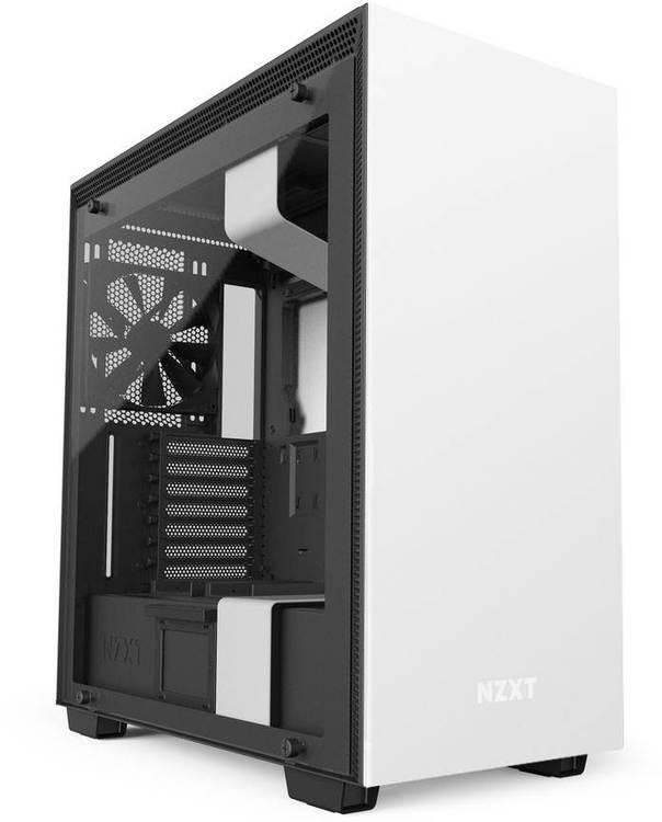 Nzxt Atx H700 Matte White Tg Case No Psu Pn Nzt Ca H700b