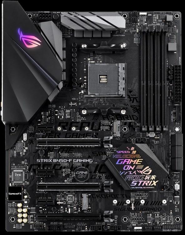 ASUS AM4 ATX ROG STRIX B450-F GAMING DDR4 Motherboard