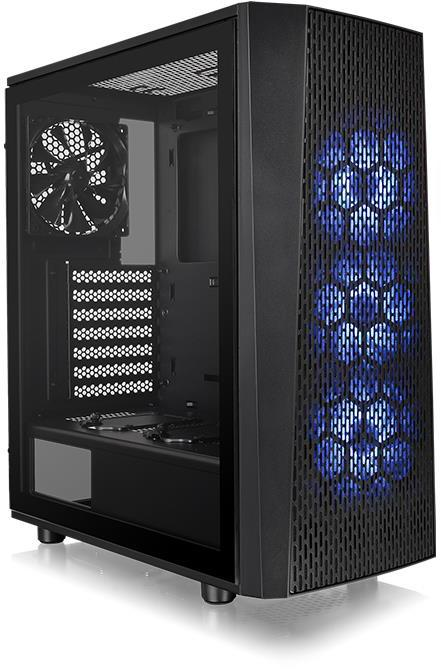 Thermaltake Atx Versa J24 Tempered Glass Rgb Edition Case