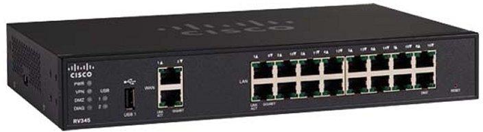 Cisco Rv345 Dual Wan Gigabit Vpn Router Pn Rv345 K9 Au