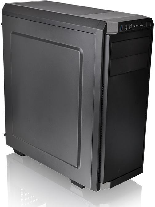 Thermaltake Atx V100 Case Black With 500w Psu Pn Ca 3k7