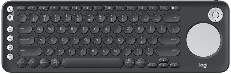 3cae814323a Logitech K600 Smart TV Keyboard with Touch Pad PN 920-008843 ...