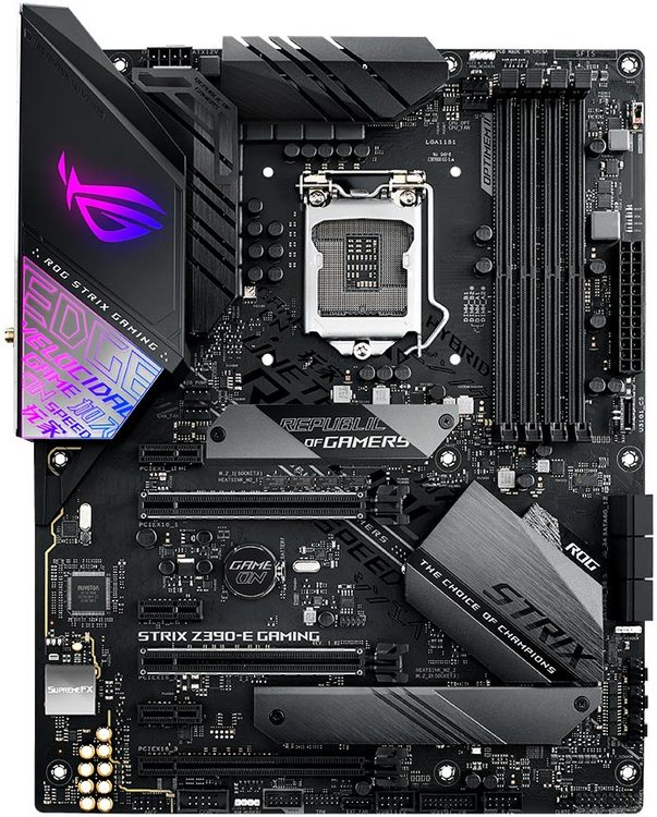 ASUS S1151 ATX ROG STRIX Z390-E GAMING DDR4 Motherboard