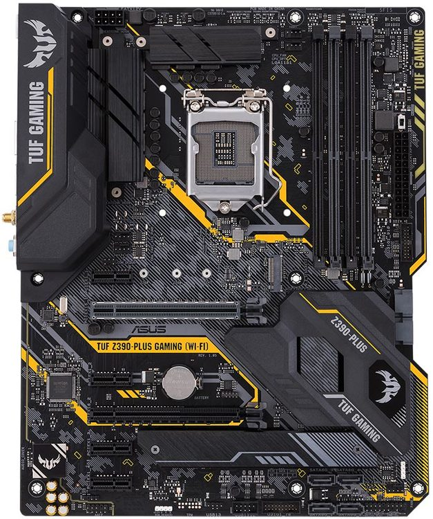 ASUS S1151 ATX TUF Z390-PLUS GAMING WIFI DDR4 Motherboard | Computer