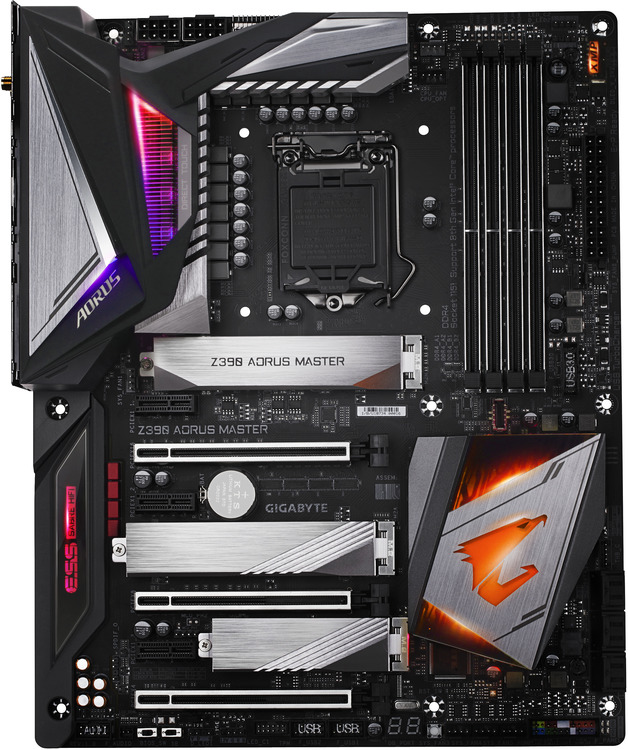 Gigabyte S1151 ATX Z390 AORUS Master DDR4 Motherboard | Computer