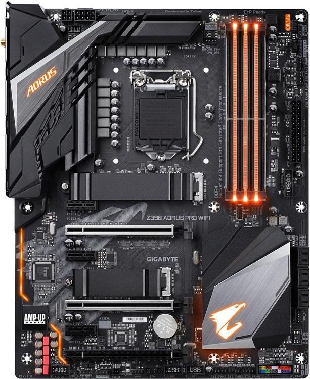 Gigabyte S1151 ATX Z390 AORUS Pro WIFI DDR4 Motherboard