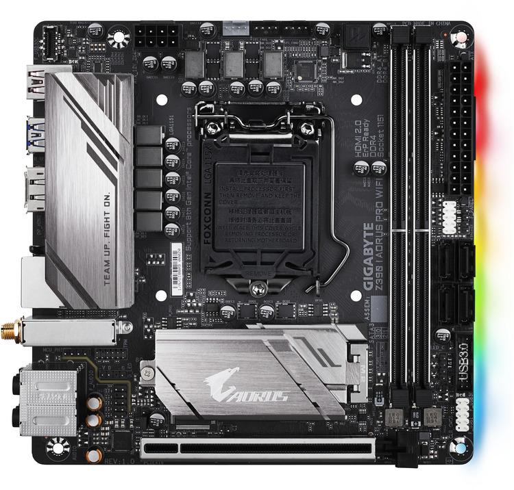 Gigabyte S1151 Mini ITX GA-Z390-I-AORUS-PRO-WIFI DDR4