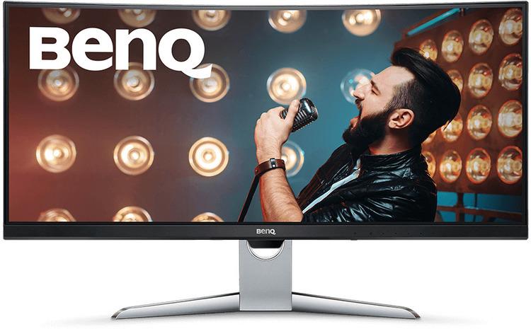 35 Benq Ex3501r Wqhd Ultrawide Curved 100hz Hdr Freesync 2 Gaming Monitor Ca