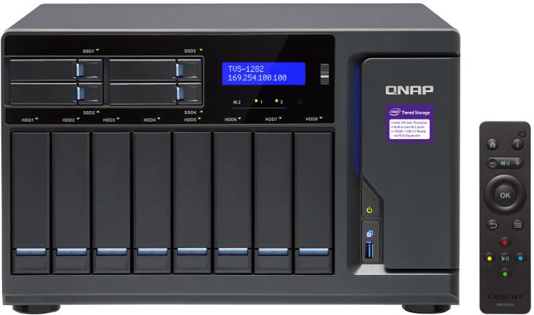 12 Bay QNAP TVS-1282-i7-32G Gigabit NAS Unit | Computer Alliance