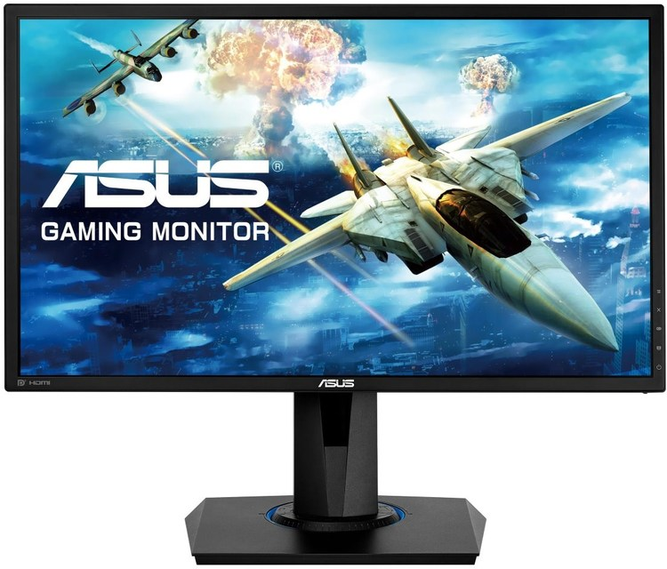 24 5 Asus Vg258q 144hz Freesync Gaming Monitor With Height Adjust