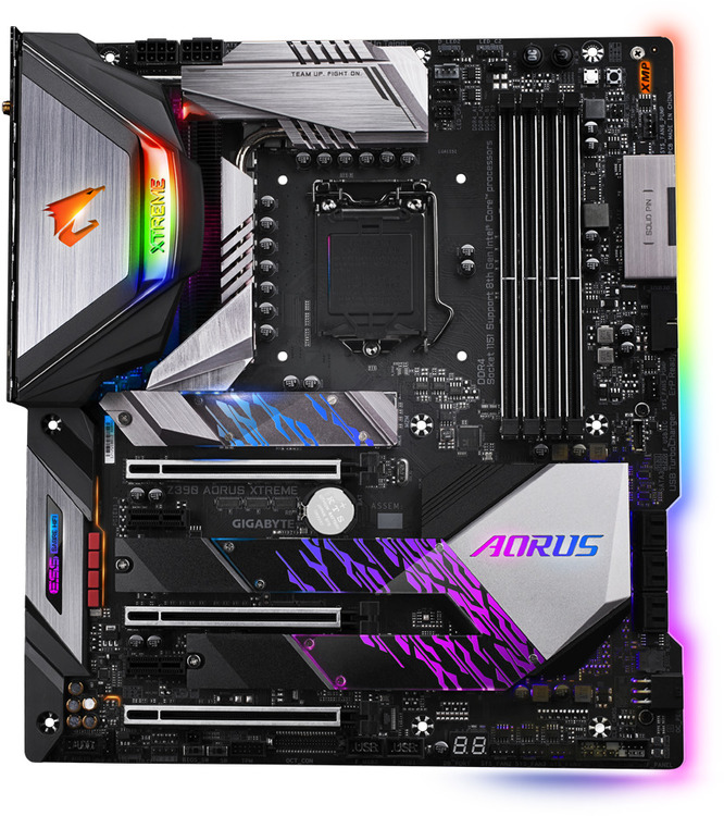 Gigabyte S1151 EATX Z390 AORUS Extreme DDR4 Motherboard