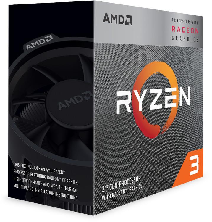 AMD AM4 Ryzen 3 3200G Quad Core 3 6GHz 65W CPU YD3200C5FHBOX