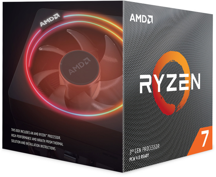 AMD AM4 Ryzen 7 3700X Eight Core 3 6GHz 65W CPU 100