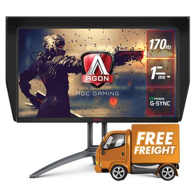 27 AOC AGON AG273QXP QHD Nano IPS G-Sync Compatible Gaming Monitor, Claim Bonus $50 Steam Code Via Online Redemption!*