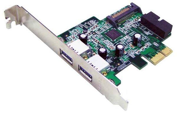 3 Port USB 3.0 PCIe Shintaro Controller Card (2 External / 1 Internal) PN SHUSB3PCIE3V2
