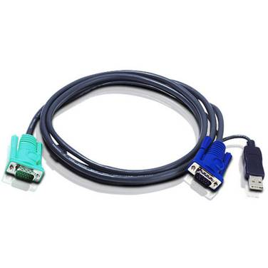 5 Metre ATEN 2L-5205U USB Male KVM Cable