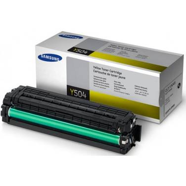 Samsung CLT-Y504S Yellow Toner (1,800 Pages)