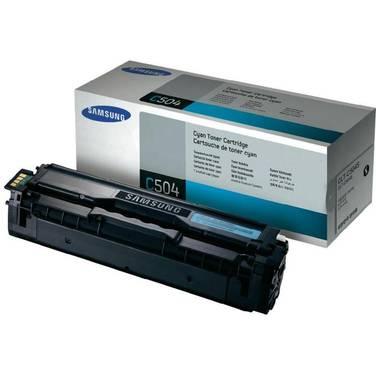 Samsung CLT-C504S Cyan Toner (1,800 Pages)