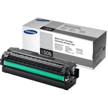 Samsung CLT-K506L Black High Yield Toner (6,000 Pages)