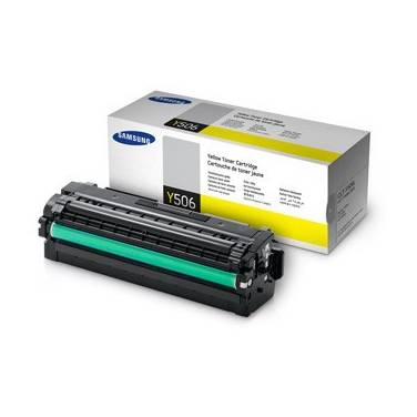 Samsung CLT-Y506L Yellow High Yield Toner (3,500 Pages)