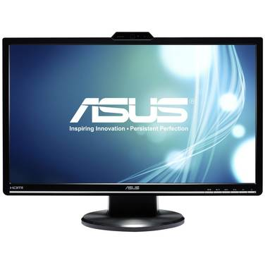 24 ASUS VK248H LED Monitor with WebCam and Speakers
