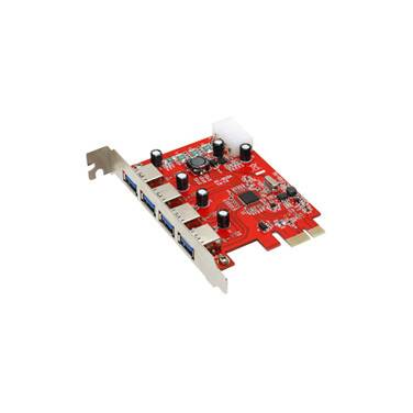 4 Port PCIe USB 3.0 Welland ME-UP314C Controller Card