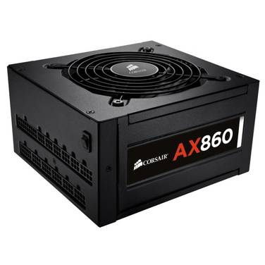 860 Watt Corsair AX860 Modular Power Supply PN CP-9020044-AU