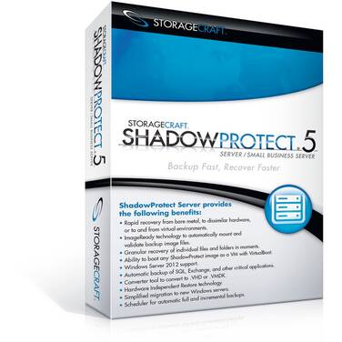 StorageCraft Shadow Protect Server Including 3 Yr Maintenance