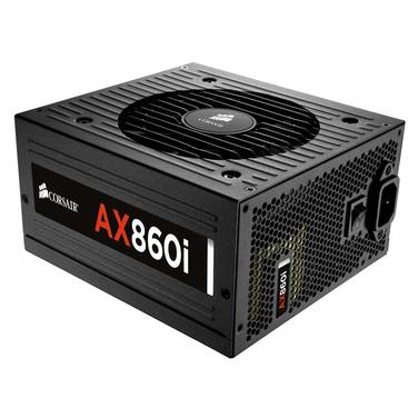 860 Watt Corsair AX860i 80Plus Platinum CP-9020037-AU Modular Power Supply
