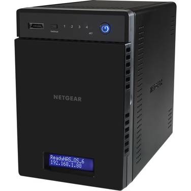 4 Bay Netgear ReadyNas 314 Gigabit NAS Unit PN RN31400