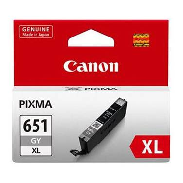 Canon CLI-651XLGY Hi-Yield Grey Inkjet Cartridge