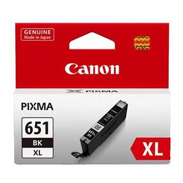 Canon CLI-651XLBK Hi-Yield Black Inkjet Cartridge
