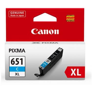 Canon CLI-651XLC Hi-Yield Cyan Inkjet Cartridge